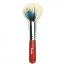 Cheek Brush EC 28 RED (pheasant・blue)