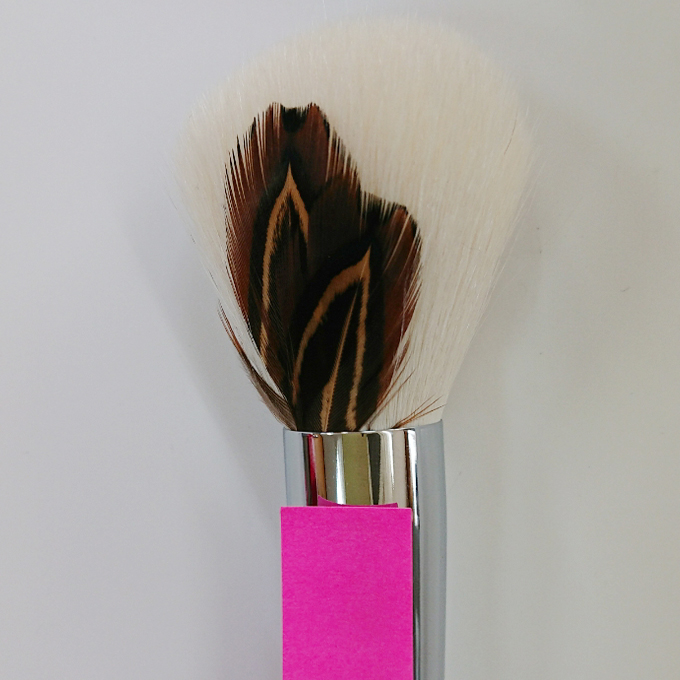 Cheek Brush EC 28 Style type2 No6 (pheasant)