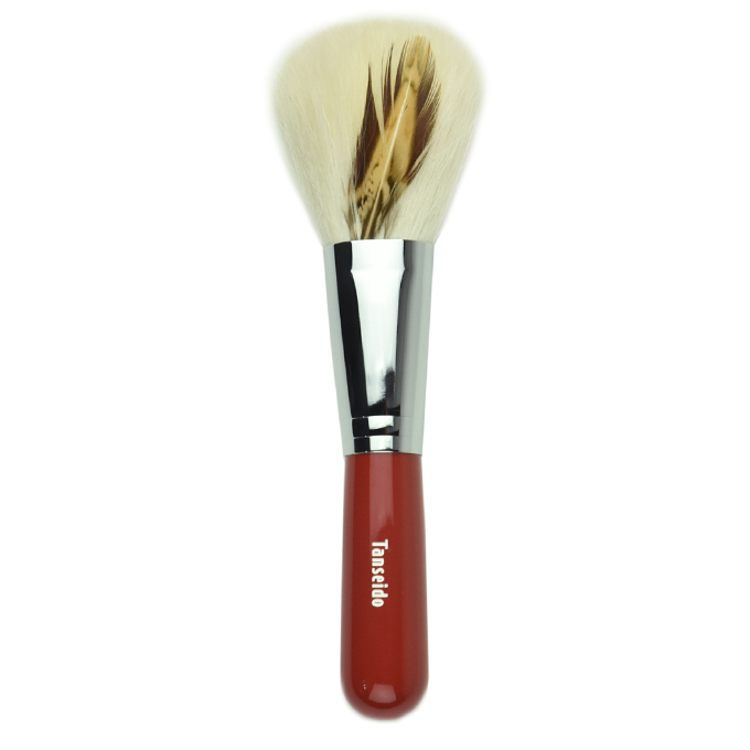 Cheek Brush JWC 28H RED (pheasant・brown)