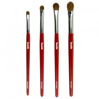 4 Eye Shadow PQ Brush Set